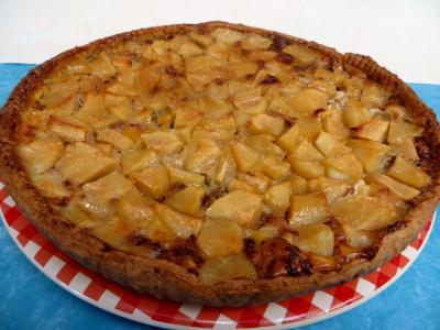 tarte : Tarte aux pommes aux épices