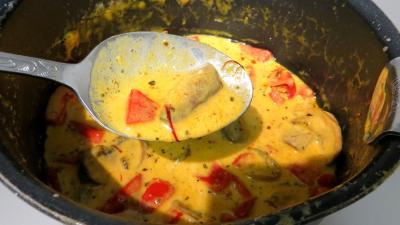 Nouilles chinoises à la crème de safran - 5.3