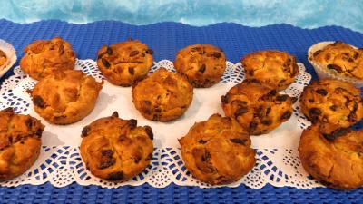 cointreau : Plat de muffins aux baies de goji