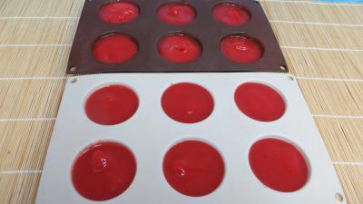 Sorbet aux framboises et aux fraises - 7.2