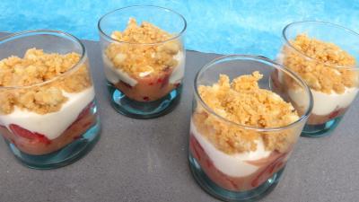 Recette Verrines de fraises aux petits suisses