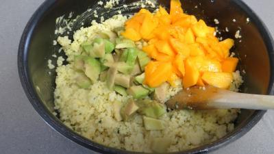 Couscous à la mangue et aux gambas - 5.2