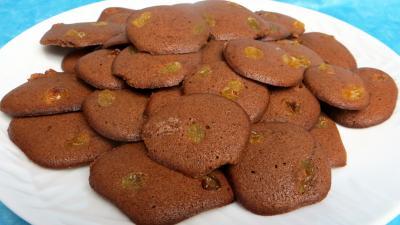 blanc d'oeuf : Assiette de palets au cacao