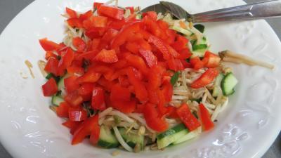 Haricots mungo en salade - 3.1