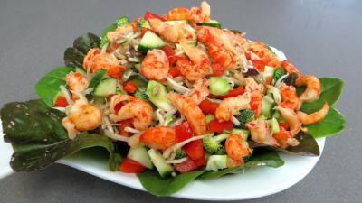 Haricots mungo en salade - 4.2