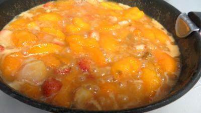 Abricots et fraises à la crème de miel - 4.1