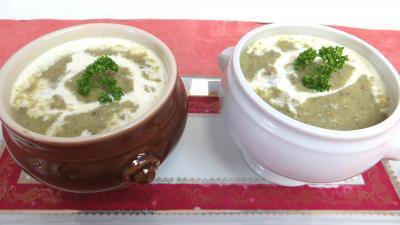 Cuisson à la casserole : Velouté de brocolis