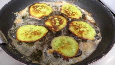 Pancakes aux courgettes - 4.2