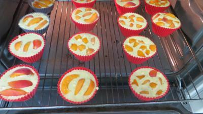 Muffins aux abricots - 4.4