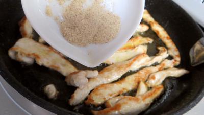 Blancs de poulet en salade - 5.1