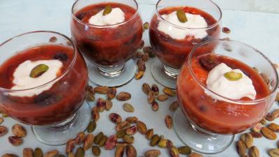 Abricots au miel et pistaches - 4.4