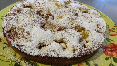 Gâteau aux nectarines - 4.4