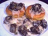 Image : Assiette de bouchées aux escargots