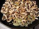 Crêpes aux champignons et au saumon fumé - 15.2