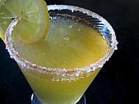 Recette Verre de cocktail sans alcool aux pommes pour diabétique
