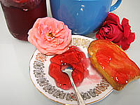 Recette Gelée de roses
