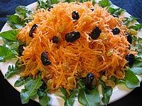 Recette Carottes en salade