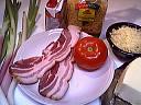 Ingrédients pour la recette : Gratin de pâtes aux ognasses façon landaise