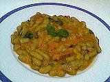 flageolet : Assiette de flageolets aux legumes