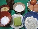 Ingrédients pour la recette : Gâteau roulé à la confiture
