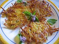 Image : Assiette de galettes de pommes de terre