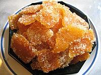 Recette Ecorces d'oranges confites