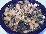 Recette Assiette de haricots blancs façon carbonara