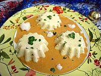 Recette Flans de chou-fleur et sa sauce crémée