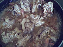Cervelle de veau aux lardons - 12.2