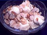 Recette Glace aux beignets d'acacia