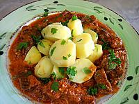Recette Boeuf au curry et aux pommes de terre