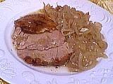 Recette Cuisse de dinde aux oignons