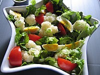 Recette Chou-fleur en salade