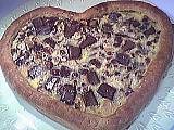 Image : Coeur de croustade au chocolat
