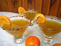 thé : Verres de cocktail au thé, Bourbon et à la menthe