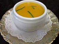 Image : Mini-soupière d'amuse-bouche de crème de cardon