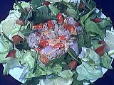 Image : Assiette de carpaccio de saint-Jacques