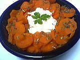 Recette Saladier de carottes au fromage blanc minceur