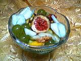 Recette Fruits au curaçao