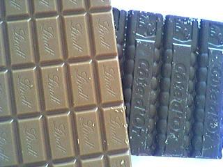 chocolat au lait et noir