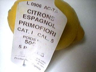 citron primafiori