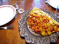 omelette au potimarron