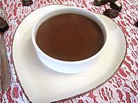 Sauce au chocolat salée