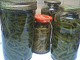 stérilisation haricots verts