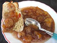 Recette Soucoupe de marmelade de nectarines et bananes