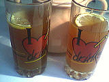 Image : Verres de thé à la cannelle