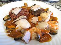 Recette Saint-Jacques à la confiture d'échalotes et au foie gras