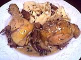 poivre vert : Assiette de poulet au poivre vert
