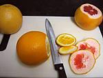 Saumon à l'orange et pomélo - 1.2