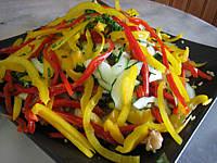 Recette Salade de boulghour et poivrons